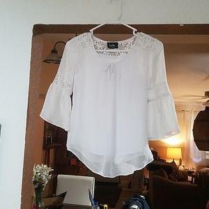Girls white blouse